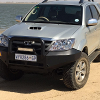 Toyota Fortuner 2006 3.0d4d 4x4 Manual Silver
