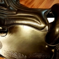Trident Texas Western Saddle