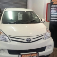 2013 Toyota Avanza 1.5sx with only 71809kms