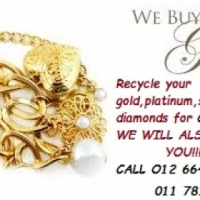 WE ALSO BUY GOLD & PAY CASH