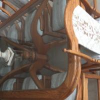 Solid oak dining suite
