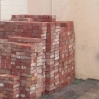 Red pavers for sale