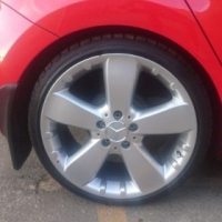 18' Mercedes ML350 / 500 (Amg) mag wheels without tyres