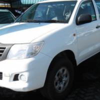 2012 Toyota Hilux 2.5 SRX D4D 4x4 D/Cab
