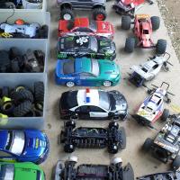 RC CAR GARAGE CLEAN UP SALE