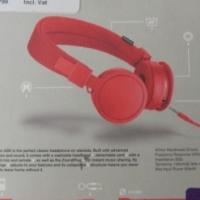 Urbanears Platten ADV On-Ear Headphones (Tomato) STILL SEALEAD