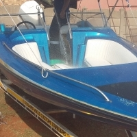 Raven Boat and Trailer for sale