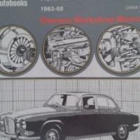 Jaguar S Type, 420 - 1963 to 1968 - Owners Workshop Manual - Number 703 - Autobooks.
