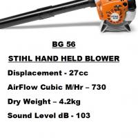 Stihl Hand Held Blower BG 56