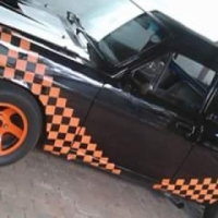 swop nissan 1400 ford v6 fitted for tow truck