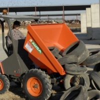 2016 AUSA Site dumper 1500kg capacity