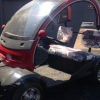 NEW Shape golf cart