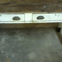 Oregon Pine table for sale. R800