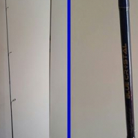 """1 x New ELBE Blue Crystal 6'0"""" graphite spinning rod"""