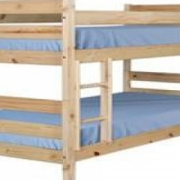 Eco clear wood bunk bed R 2000 at Woodnbeds,contact 011 794 4376,we deliver Gauteng wide
