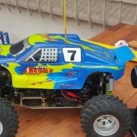 Nitro petrol remote control Monster truck