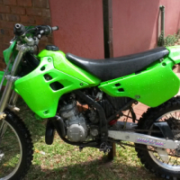 kawasaki kdx 125 two stroke ,with papers