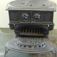 Antique queen Anne stove
