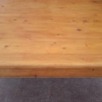Solid Oregon Pine Coffee Table