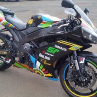 2008 Yamaha R1 300th Rossi Edition