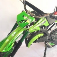 Kids 49cc petrol 2 stroke mini dirt bikes on sale - New with better carb and pull start