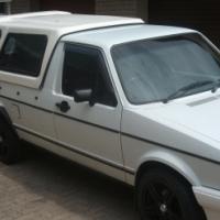 Volkswagen bakkie plus a canopy plus venter trailer for sale