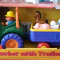 Various toddler and baby toys and books