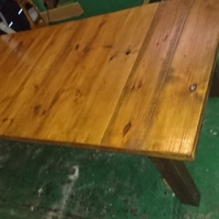 8-10 Seater Oregon Pine Table for Sale