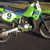 Kawasaki KDX200For sale.