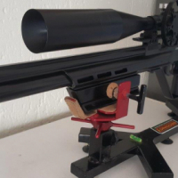 Hammerli AR20FT field target PCP airrifle with scope
