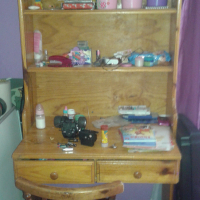 Desk/Bookshelf