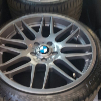 19inch Csl rims WITH TYRES.