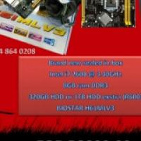 Intel i7 2600@3.40GHz 8GB ram 320GB HDD PC