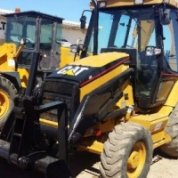 TLBs Caterpillar Cat 424D 4x4 Fully Re-furbished, New Engine;