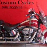 Absolute Mint Condition Softail  Delux Loaded with Extras!