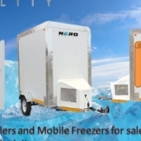 Mobile coldrooms - Mobile Freezer - Mobile chiller