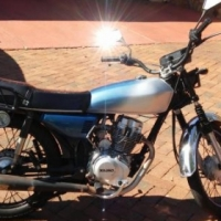 125cc No Limits Import Motorcycle