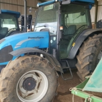 2004 Landini Powerfarm 105 Cab