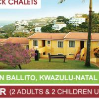 Chakas Rock Chalet - Ballito, Durban - December 2016 - 4 Sleeper