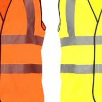 Lime or Orange reflective Vest