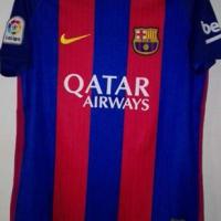 FC Barcelona Neymar 2016/2017 home soccer top.