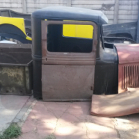 1934 Ford pick up steel body to build a hot rod or rat rod