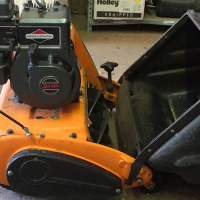 Rolux chieftain roller lawnmower