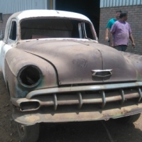 1954 CHEVROLET AMBULANCE WITH DONOR VEHICLE - FOR SALE