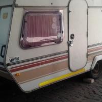 R24 000 1984 Sprite Swift Caravan. Good condition