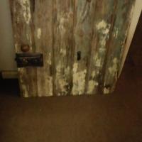 antique decor door