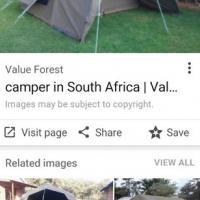 Canvas bushcamper jnr tent