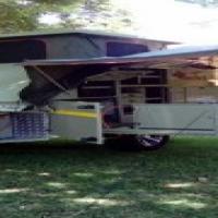 Afrispoor Buffel off-road caravan