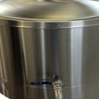 New 225 liters electric oil jacketed pots on special