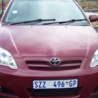Toyota Runx 1.6 2006 Model,5 Doors factory A/C And C/D Player